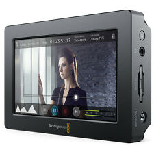Blackmagic Design ayudar monitor de alta resolución de vídeo/grabador paquete de disparo
