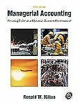 Managerial Accounting: Creating Value in a Dynamic Business Environment w/Studen