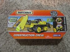 Matchbox Mega Rig Construction Crew Building System Toy NEW FACTORY SEALED