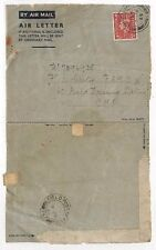 LL203 1945 GB WW2 AIRLETTER Staffs *RAMC* Field Dressing Station *FPO-797* CMF