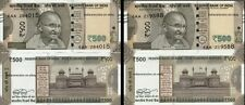 INDIA 500 Rs Urjit Patel 2016 Error Set E Inset Paper Money Bank Note UNC Rare