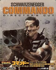 COMMANDO Director's Cut 30th Anniversary Limited Edition SteelBook Japan Import