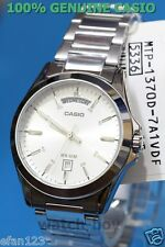 MTP-1370D-7A2 Japan Movt New Genuine Casio Watch Date Display 50m White New