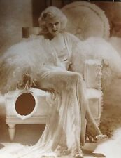 """Jean Harlow Poster Print - 11""""x14"""" Sepia - 1930's Blonde Bombshell Glamour Pic"""