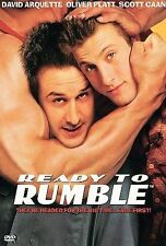 Ready to Rumble (DVD, 2000) David Arquette, Oliver Platt RARE & OOP