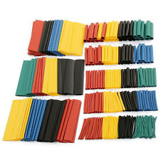 328 Pcs 5 Colors 8 Sizes Assorted 2:1 Heat Shrink Tubing Wrap Sleeve Kit top HU