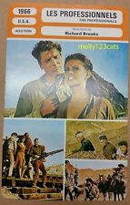 US Western The Professionals Burt Lancaster Lee Marvin French Film Trade Card
