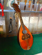 Vega Vintage Bowl Back Mandolin Very nice action but needs repair in back bowl