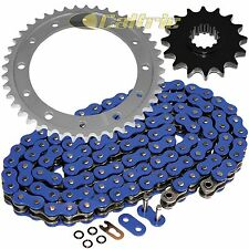 Blue O-Ring Drive Chain & Sprockets Kit Fits HONDA VFR750F Interceptor 750 90-97