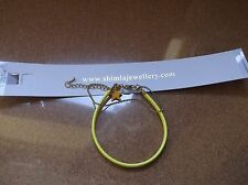 BRAND NEW GENUINE SHIMLA BRIGHT YELLOW DOUBLE STRAINED AND STAR CHARM BRACELET
