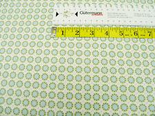 Anello Gütermann a Rose Notting Hill * cerchio su verde * cotone con motivo * 0,5m