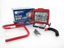 NEW Mechanics Choice Halogen Work Light MC060 500 Watt with Stand & Handle