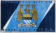 RUG MAN CITY PRINTED BEDROOM FLOOR MAT MANCHESTER CREST BLUE FOOTBALL CLUB TEAM