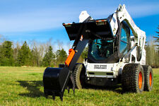 Backhoe Attachment for Bobcat Skid Steer - Eterra E60 Backhoe - 3 Option Bundle