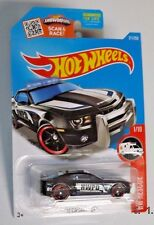 2016 Hot Wheels #211 (black) '10 CAMARO SS - HW Rescue Police -  SS6