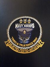 United States Navy Chiefs Patch