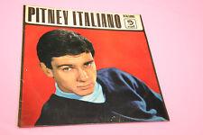 GENE PITNEY LP L'ITALIANO VOLUME 2 ORIGINALE ITALY '60 SOLO COPERTINA NO DISCO