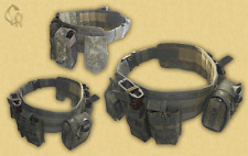 TACTICAL BELT KIT-2 (with pouches) in Digital Flora by SOTNIC