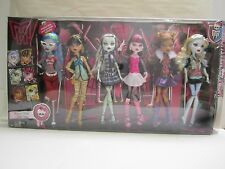 Monster High Original Ghoul 6 pack Ghoulia Yelps Frankie Lagoona Cleo NEW