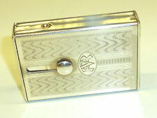 Etna (Charles Bertin) vintage French unique lighter w. concealed mechanism -1936
