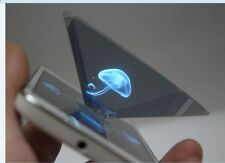 3D Hologram Pyramid Display Projector Video Universal for Any Smart Cell Phone