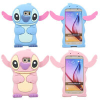 3D Cute Cartoon Soft Silicone Rubber Skin Case Cover For Samsung Galaxy Phones