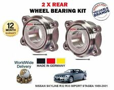 FOR NISSAN SKYLINE R32 R33 IMPORT STAGEA 1989-2001 NEW 2x REAR WHEEL BEARING KIT