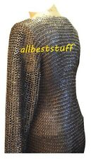 Chain Mail Shirt Round Riveted Ring Flat Washer Ring Hauberk Heavy 16 Gauge