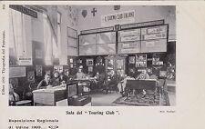 """#UDINE: ESPOSIZ. REGIONALE DEL 1903- SALA DEL """"TOURING CLUB"""""""