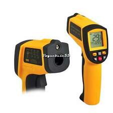 GM900 Digital -50°C bis +900°C Infrarot Thermometer Laser Pyrometer Messgerät VE
