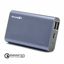 Power bank Charger BlitzWolf BW-P3 Phone Battery USB Dual Portable 9000mAh 18W