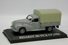 Ixo Presse 1/43 - Peugeot 203 Pick Up Bâché 1950