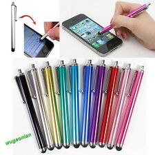 10pcs Metal Universal Stylus Touch Screen Pen For iPhone 5 4G 4S iPod iPad 2 3rd