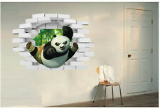 3D Kung Fu Panda  Removable Wall Sticker/Decal Home/Rome Decoration Art