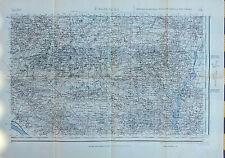 Ancienne carte de Bretagne année 40/41, Bouvron, Le Temple, St Etienne de M...