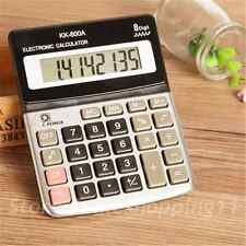 Large Buttons 8 Digits Calculator Handheld Portable Desktop Battery Calculator