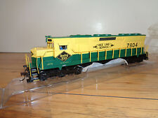 "BACHMANN SPECTRUM HO SCALE # 82715 READING ""BEE LINE"" DCC SD-45 DIESEL LOCO &BOX"