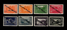 Albania - 1925 - SC 178-185 - H - Complete Set - Stamps of 1923 Overprinted