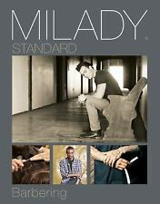 Milady's Standard Barbering by Milady (2016, Hardcover)