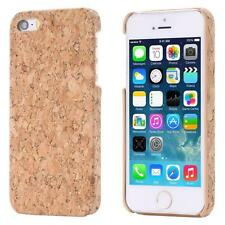 Apple iPhone SE 5 5S CORK CASE  WOOD NATURE COVER