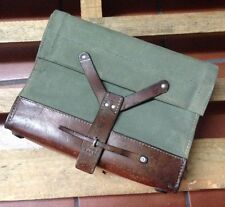 1964 Good Condition Vintage Swiss Army Military Ammo Bag Bicycle Pannier