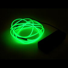 Costume EL Flash Wire LED Lighting Rave Party 5mm 9 Feet