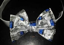 L@@K! Custom Tardis design Bow Tie - Dr Who The Doctor  Gallifrey Whovian