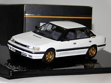 SUBARU LEGACY RS 2.0 TURBO RA TYPE 1989 WHITE IXO CLC227 1/43