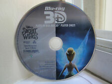 Secret of the Wings (3-D Blu-ray, 2012) 3-D Blu-ray only, no artwork, no DVD