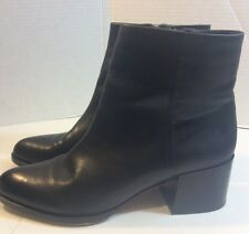 Sam Edelman Joey Womens Size 10 Black Leather Ankle Boots