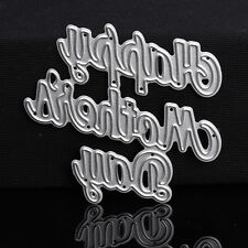 Selling Letter DIY Dies Metal Cutting Stencil For Scrapbooking Paper Cards
