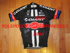 Marcel Kittel signed 2015 Giant-Alpecin Cycling Jersey TOur De France