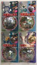 """Tomy Auldey Pokemon Figures Poliwhirl, Vaporeon, Omastar & Aerodactyl """"WOW"""""""
