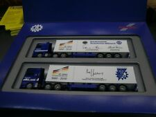 Herpa LKW MB Actros + MAN TG-X 2x Cont-Sz Set 60 Jahre THW